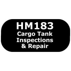 HM183 cargo tank inspections and repair